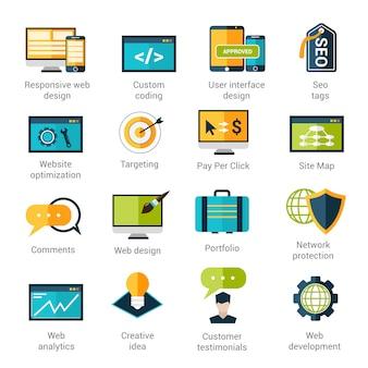 Набор иконок для веб-разработки