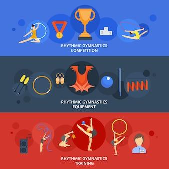 Набор баннеров для гимнастики