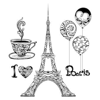 Декоративная эйфелева башня