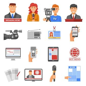 Набор иконок для медиа