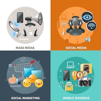 Концепция социальных медиа