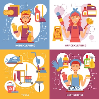 清掃サービスデザインコンセプト
