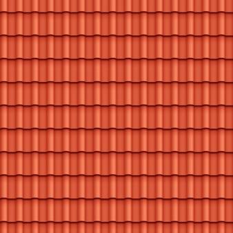 屋根瓦のシームレスパターン