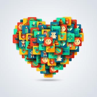 Концепция детского сердца