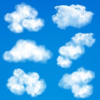 空の雲の背景