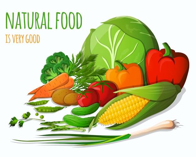 野菜の静物画
