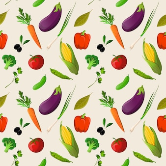 Овощи бесшовные