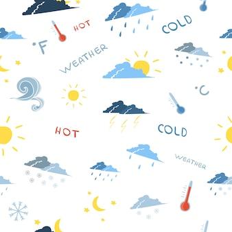 シームレスな天気予報パターン