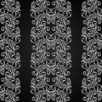 Вертикальный серый бесшовный фон