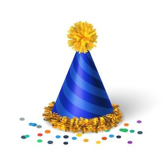 スパイラルと青い誕生日帽子