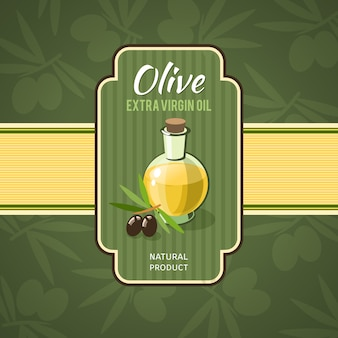 Значок оливкового масла