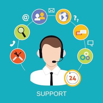 Служба поддержки клиентов