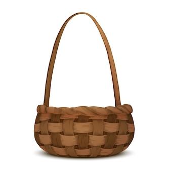 枝編み細工品バスケット
