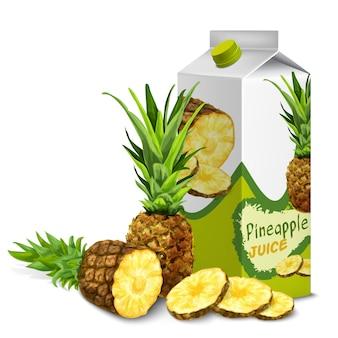 Пакет сока ананас