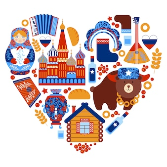 ロシア旅行ハートセット