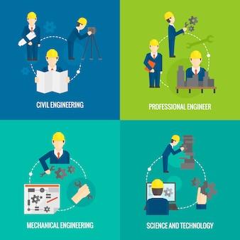 Набор профессии инженер персонажа состав