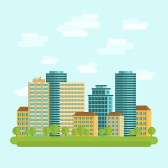 Городской центр города квартира