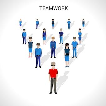 チームワークの概念図