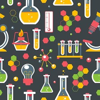 化学のシームレスパターン