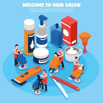 Концепция для парикмахерских