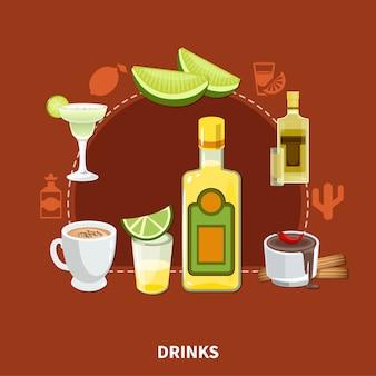 メキシコの飲み物の組成