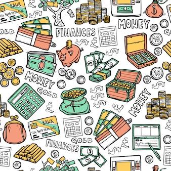 金融のシームレスパターン