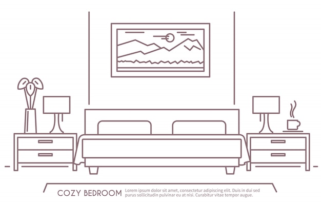 寝室用家具の概要