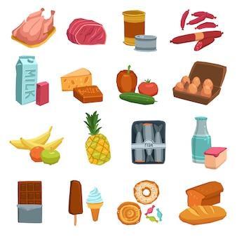 Супермаркет продовольственный набор