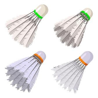 羽根のアイコンを設定、漫画のスタイル