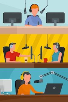 ラジオ局の音楽