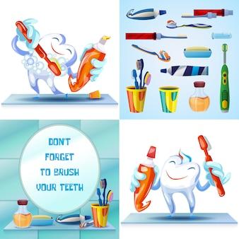 クリーニング歯ブラシ