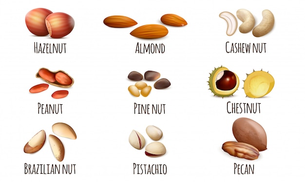 Установить ореховые иконки
