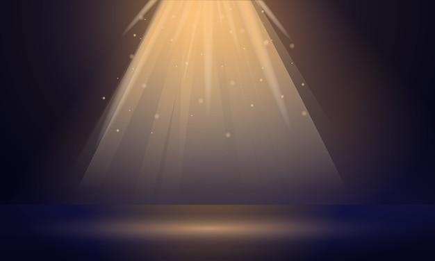 Прожекторный баннер, мультяшный стиль