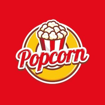 Логотип попкорн