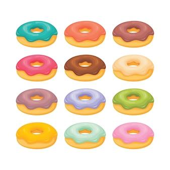 Пончики с разными начинками