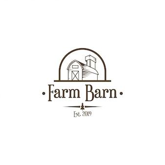 Логотип сарая