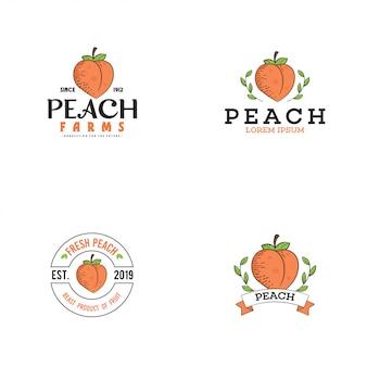 Персиковый логотип