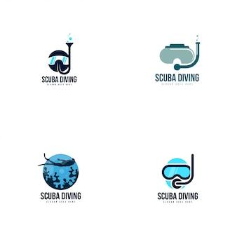 スキューバダイビングのロゴ