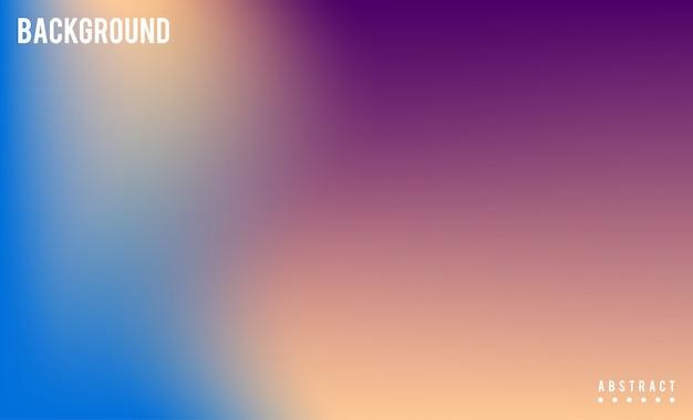 抽象的なぼやけたグラデーションメッシュバックグラウンドストック映像。