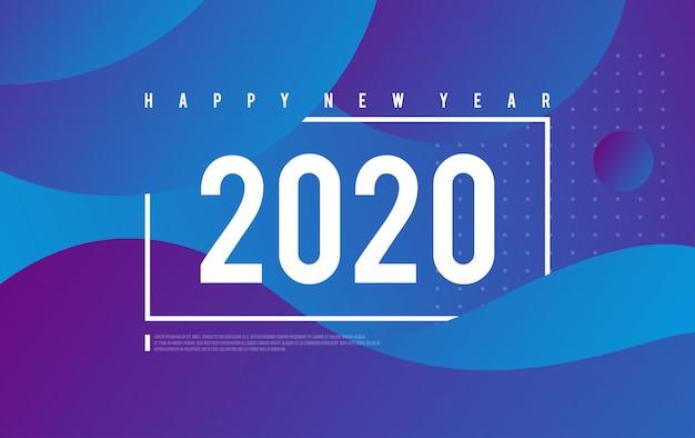 С новым годом фоновой иллюстрации вектор