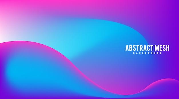 Сетка градиентный абстрактный фон вектор