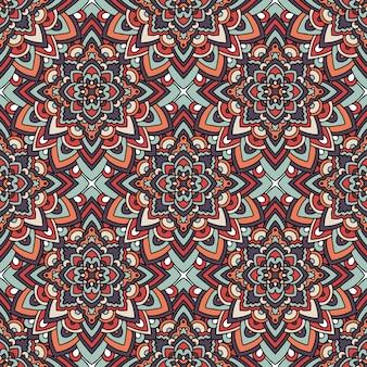 幾何学的な民俗パターン。