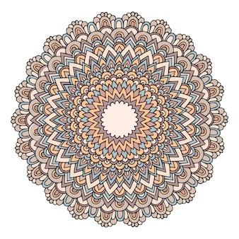 Круглая декоративная мандала