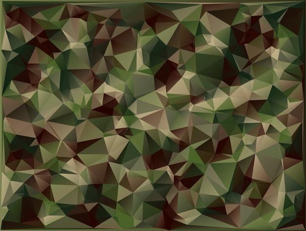 抽象的なベクトルミリタリー迷彩背景