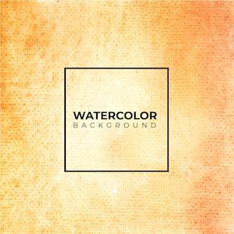オレンジ色の抽象的な水彩テクスチャ背景