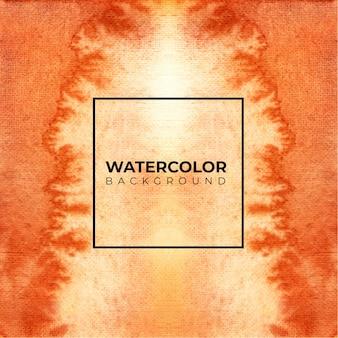 茶色の水彩テクスチャ背景、ハンドペイント。色しぶき