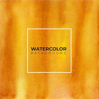 任意の目的のためのオレンジと茶色の水彩画の背景。抽象的な水彩画の背景。