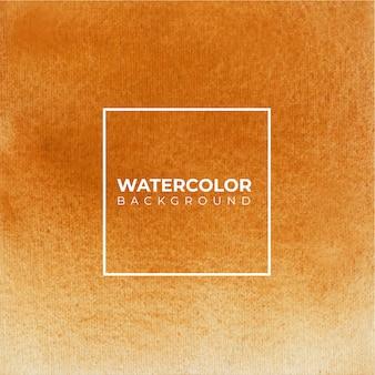 茶色の抽象的な水彩テクスチャ背景