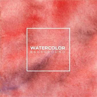ファンタジー赤い色合い水彩背景。