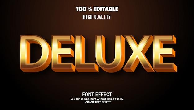 Стилизованный современный шрифт, редактируемый эффект шрифта